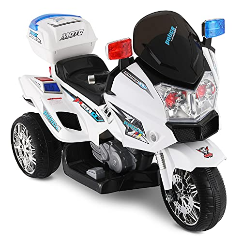 BABLE 12V Police Electric Motorcycle for...