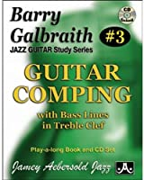 Guitar Comping: With Bass Lines in Treble Clef (Jazz Guitar Study)