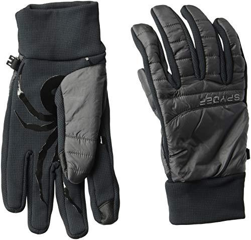 Spyder Glissade Hybrid-Handschuh, polar/schwarz/schwarz, Größe L