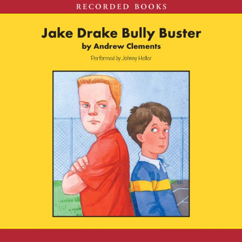 Jake Drake audiobook cover art