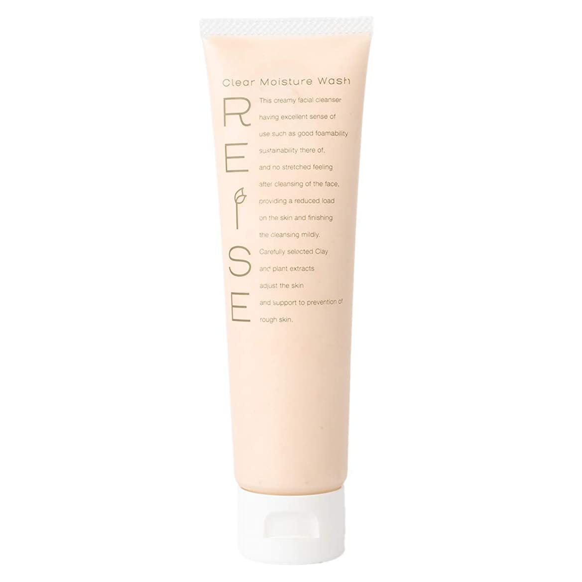 満足できるヒゲ茎ライゼ クリア保湿ウォッシュ105g 発酵卵白の羽泡で潤って洗う 洗顔フォーム