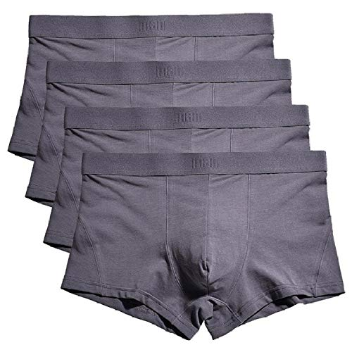 Boxer Shorts mannen Boxers mannen grote taille katoen Boxershorts ondergoed (Pack van 4) stely C