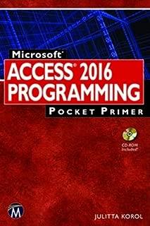 Microsoft Access 2016 Programming Pocket Primer (Computing)