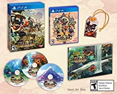 """Divine Edition contains a 3-disc soundtrack, a large 130Pg art book measuring 8.2"""" by 5.8"""", and a Japanese omamori charm measuring 2"""" by 3"""", all packaged within a custom box with exclusive illustration Refined side-scrolling platform action - using f..."""