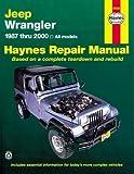Jeep Wrangler 1987 - 2011 Repair Manual (Haynes Repair Manual (Paperback))