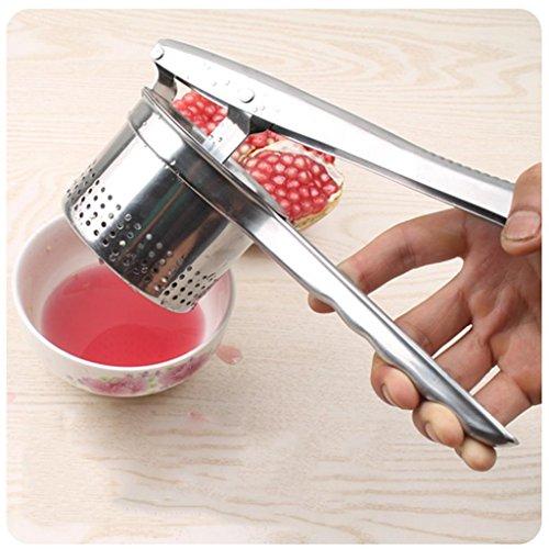 xiaowu Juicer Edelstahl Handgefertigte Frucht Traube Zitrone Granatapfel Saft Maschine