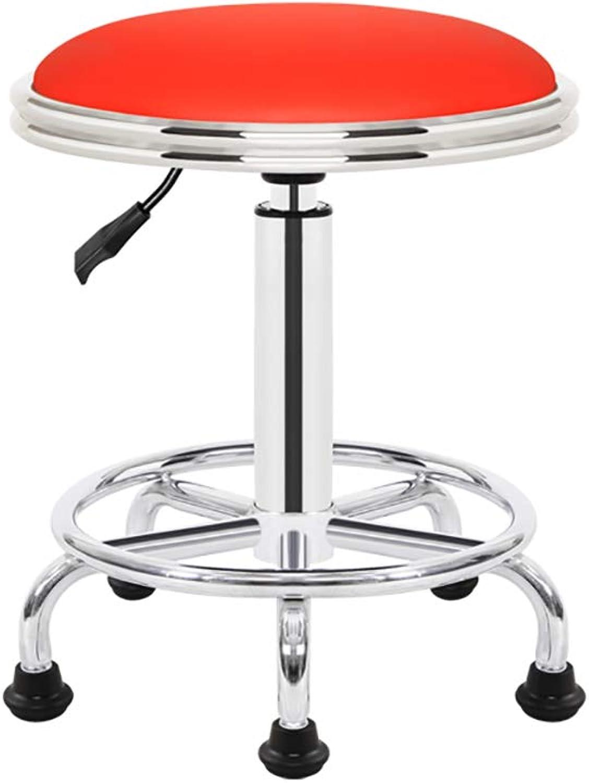 Lift bar Chair Bar Stool Lift redate Bar Chair Beauty Barber Work Stool Work Chair (color   A)