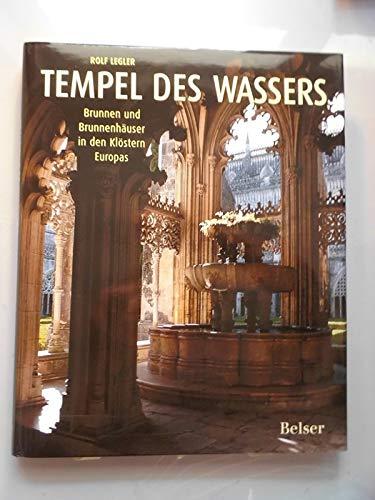 2 Bücher Tempel des Wassers Brunnen Brunnenhäuser Klöster + Brunnen Dresden DDR