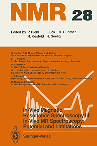 In-Vivo Magnetic Resonance Spectroscopy III: In-Vivo MR Spectroscopy: Potential and Limitations (NMR Basic Principles and Progress Book 28) (English Edition)