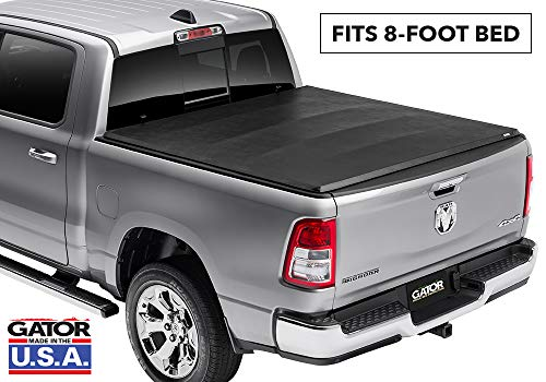 Gator ETX Soft Tri-Fold Truck Bed Tonneau Cover | 59203 | Fits 2009-2018, 2019/2020 Classic Dodge Ram 1500-3500 8' Bed | Made in the USA