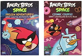 angry birds space coloring