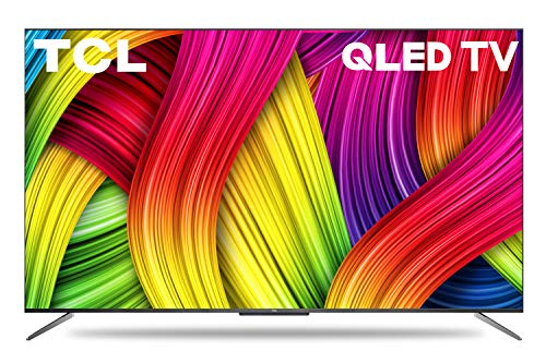 TCL 125.7 cm (50 inches) 4K Ultra HD Certified Android Smart QLED TV 50C715 (Metallic Black) (2020 Model)   with Voice Control