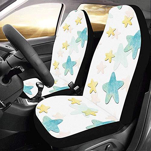 Enoqunt universele stoelhoezen voor SUV Pentagram Simiple Style Universal Fit autostoelhoezen autostoelhoezen beschermhoezen autostoel SUV
