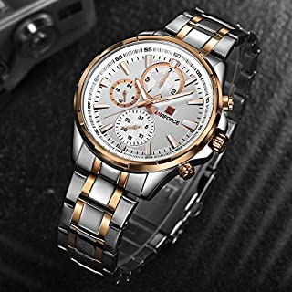 Naviforce Casual Watch For Men Analog Stainless Steel - NF9089.2