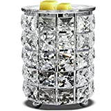 Wrought Iron Crystal Wax Melt Warmer Electric Oil...