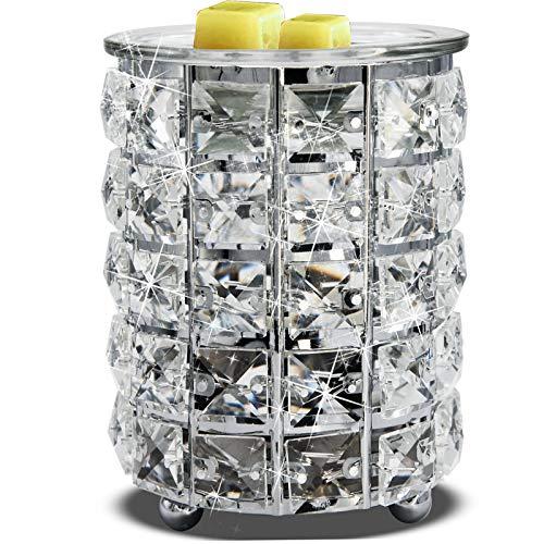 Wrought Iron Crystal Wax Melt Warmer Electric Oil Burner Wax Melt for...
