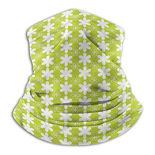 Bufanda para el Cabello Calentador de Cuello Floral para Mujer Flora de la Temporada de Primavera