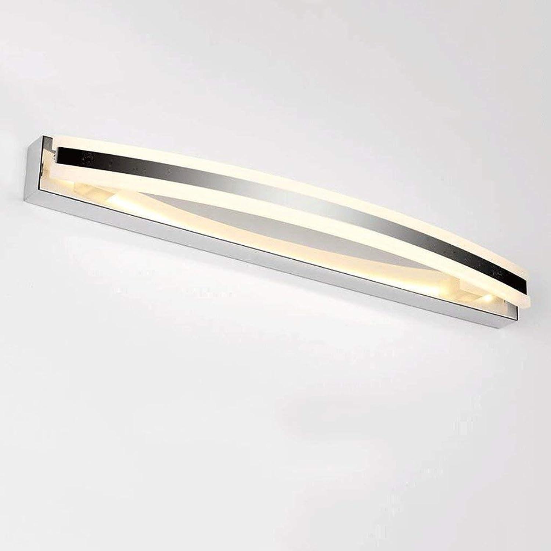 Spiegel, Scheinwerfer, Spiegel, Scheinwerfer, Led-Spiegel Beleuchtung Vorn, Mode Einfach Wandleuchte, Wasserundurchlssige Anti-Fog-Wc Wc Kopf Spiegel Lampe, Led Energiesparende Make-Up-Leuc