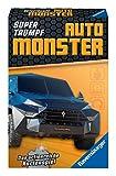 Ravensburger Juego de Cartas para niños 20690 – Juego de Cartas Super Trumpf Auto Monster, Cuarteto y Trump para Fans de la tecnología a Partir de 7 años