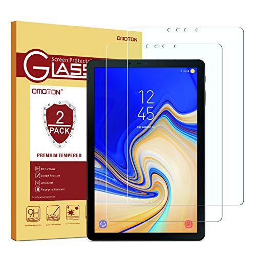 OMOTON Galaxy Tab S4 Protector de Pantalla, Crsital Templado, Anti-Huellas,...