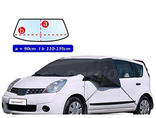pitshop24de Frost Scheibenschutz Auto Frontschutzscheiben Abdeckung Seiten inklusive Türenschloss ist auch geschützt