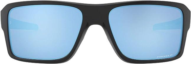 Oakley mens Oo9380 Double Edge Rectangular Sunglasses Rectangular Sunglasses