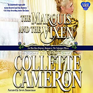 The Marquis and the Vixen audiobook cover art