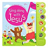 Hello 2 Kids Sing Along with Jesus - Early Bird Christian Sound Book Musical Toy - 6 Bible Songs & Illustrations   Gift for Babies, Toddlers' Baptisms, Birthdays