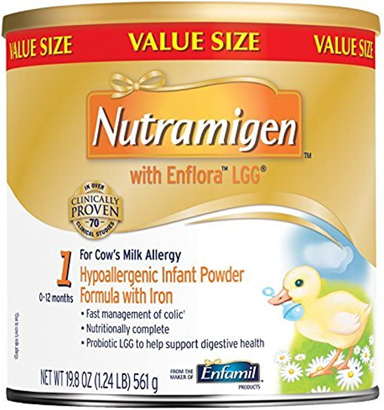 Nutramigen With Enflora LGG Baby Formula 19 8 Oz Powder Can Pack Of 4 By Nutramigen