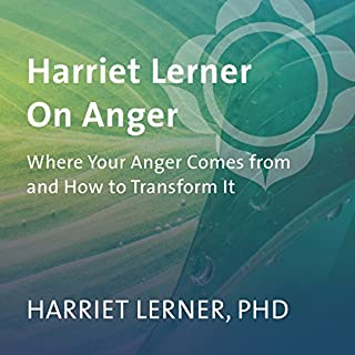 Harriet Lerner on Anger cover art