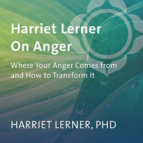 Harriet Lerner on Anger audiobook cover art