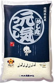 【精米】福岡県産白米 元気つくし 5kg 令和元年産