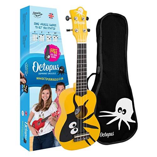 Ukelele soprano Octopus UK200-KAY, color amarillo