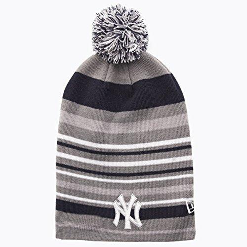 New Era - Bonnet Homme New York Yankees Stripe Out 2 - Grey/Navy