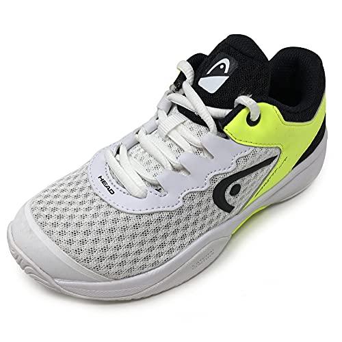 Head Sprint 3.0 Jnr,  Zapatillas de Tenis Unisex Niños,  Blanco (White/Navy Yellow Whny),  38.5 EU