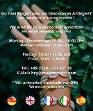 Wikinger Kette - Schmuck Halskette für Herren - Edelstahl Silberkette Handgemacht - Keltischer Herrenschmuck -Skandinavisch Nordic - Herrenkette mit Anhänger (Flügel) - 2