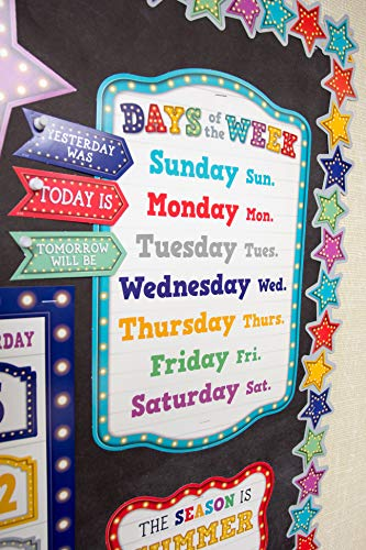 Teacher Created Resources Marquee Calendar Bulletin Board Photo #3