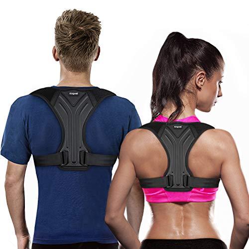 Kingwell Posture Corrector for Women and Men, Adjustable Back Brace for Upper...