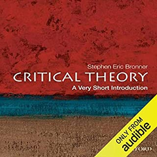 Critical Theory: A Very Short Introduction  Titelbild