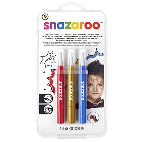 Snazaroo Face Paint Brush Pen, Adventure