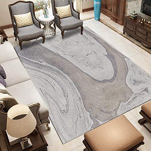 XIAOLEI Modernas Alfombras 160x260cm Microfibra Primera Alfombra imitación Cordero Lavables Dormitorio Decoración, HA-HS42