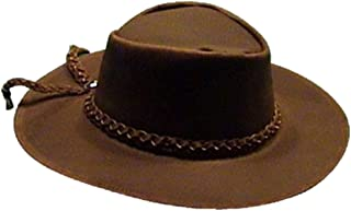 Clint Eastwood Good Bad Ugly Brown Leather Cowboy Hat