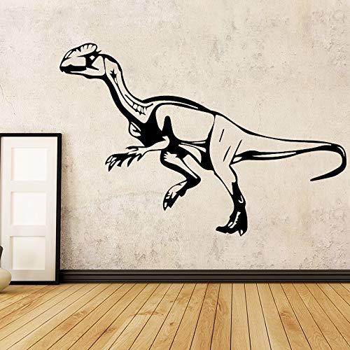 BailongXiao Dinosaurio removible Etiqueta de la Pared del Arte Etiqueta de la Pared decoración Mural Sala de Estar Dormitorio Etiqueta de la Pared Impermeable extraíble 58x39cm