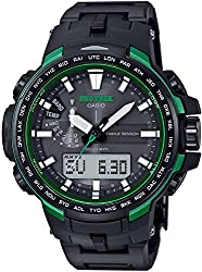durable tough water resistant wrist watch - CASIO Men's watches PROTREK Triple Sensor Ver.3 equipped with the world six stations Solar radio PRW-6100FC-1JF -