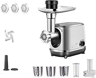 350W Electric Meat Grinder, and Household Sausage Maker Meats Mincer Food Grinding Mincing Machine with 2 Cutting Plates P...