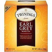 Twinings Earl Grey Black Tea, 50 ct