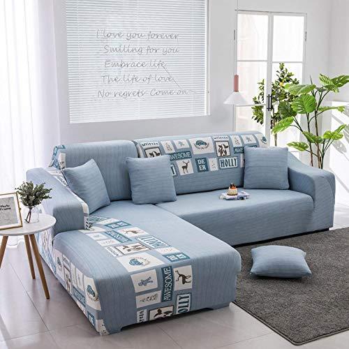 JRKJ Sofa-overtrek voor het hele jaar door antislip, all-inclusive kussensloop, stofovertrek voor meubelbanken