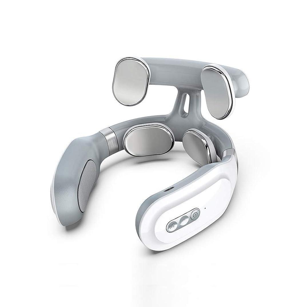 シンプトン蒸発期限切れ首マッサージャー ネックマッサージャー マッサージ器 首 肩 腰 背中 太もも 肩こり 多機能 ストレス解消 多機能家庭用&職場用&車用 健康グッズ 説明書付き USB充電式