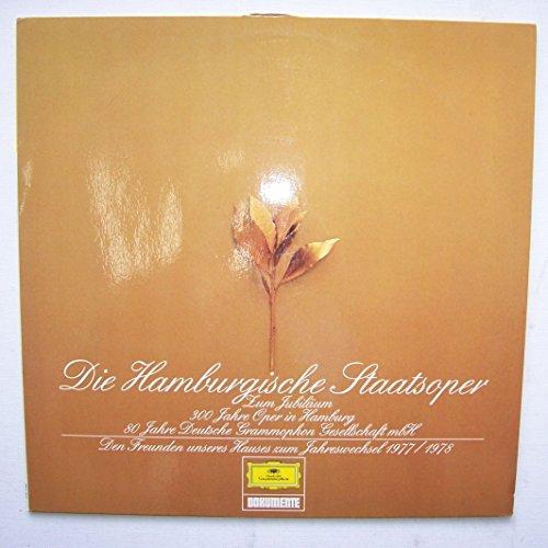 Die Hamburgische Staatsoper. 300 jahre Oper in Hamburg. Vinyl LP.