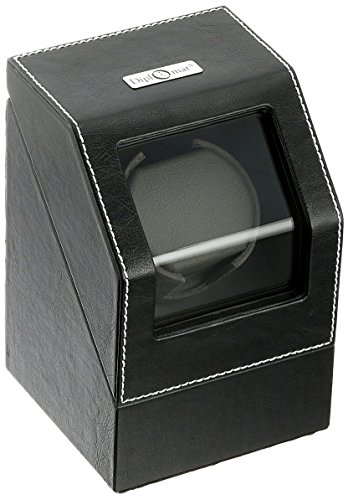Diplomat 34-501 Battery Powered Leather Synthetic Watch Winder